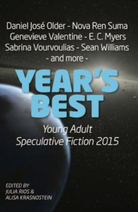 Year's Best Young Adult Speculative Fiction 2015 cover
